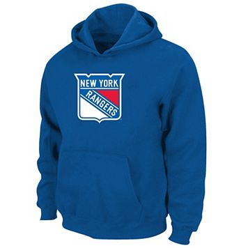 Boys 8-20 Majestic New York Rangers Logo Pullover Hoodie