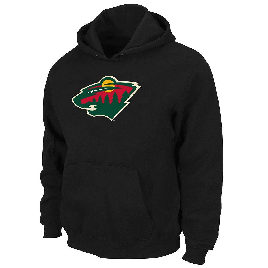 Boys 8-20 Majestic Minnesota Wild Logo Pullover Hoodie