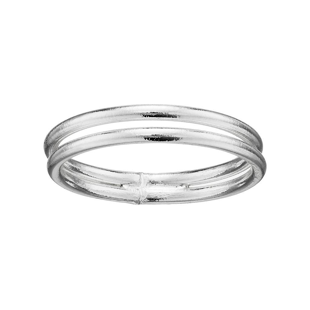 LC Lauren Conrad Double Band Toe Ring