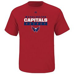 Boys 8-20 Majestic Washington Capitals Wordmark Tee