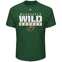 Boys 8-20 Majestic Minnesota Wild Wordmark Tee