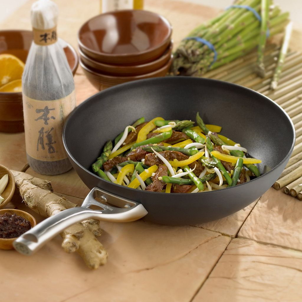 Calphalon Contemporary 10-in. Hard Anodized Nonstick Stir Fry Pan