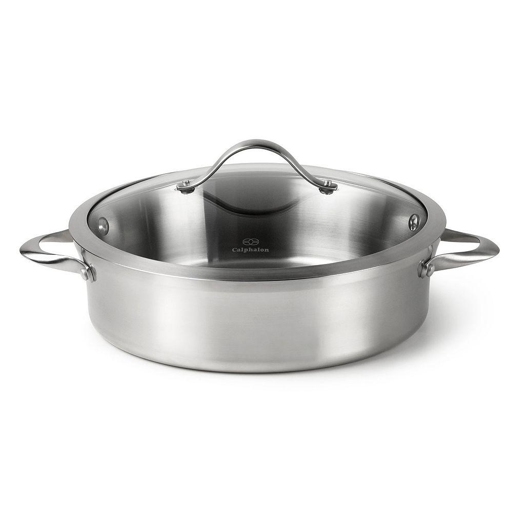 Calphalon Contemporary 5-qt. Stainless Steel Sauteuse Pan