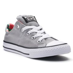 kids gray converse e6he  Girls' Converse Chuck Taylor All Star Madison Shoes White Teal Gray