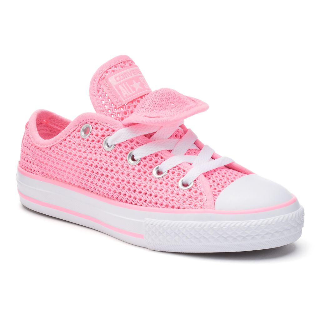 Girls' Converse Chuck Taylor All Star Double Tongue Crochet Sneakers