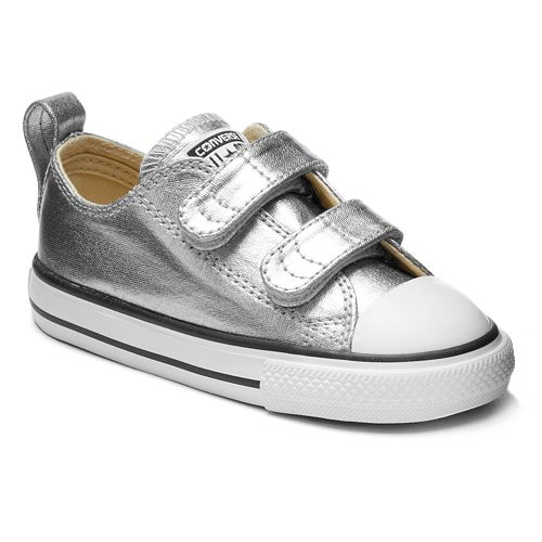 1c1c5858eaed Toddler Converse Chuck Taylor All Star Metallic Sneakers