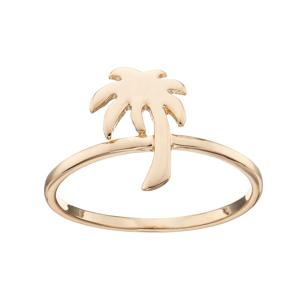 LC Lauren Conrad Palm Tree Ring