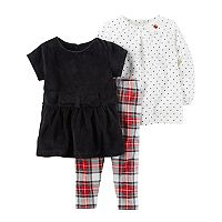 Baby Girl Carter's 3 pc Holiday Set