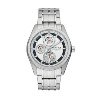 Armitron Men's Stainless Steel Skeleton Watch - 20/5222SVSV