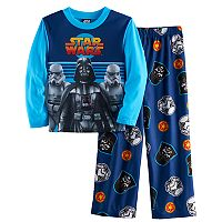 Boys 4-10 Star Wars Darth Vader 2-Piece Pajama Set
