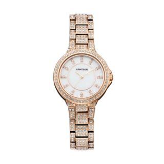 Armitron Women's Crystal Watch - 75/5317MPRG