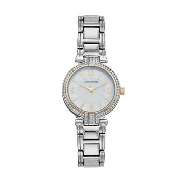 Armitron Women's Crystal Watch - 75/5377MPFT