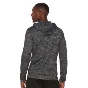 Men's Tek Gear® Brushed Space-Dyed Full-Zip Hoodie