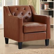 Oliver Tufted Accent Arm Chair