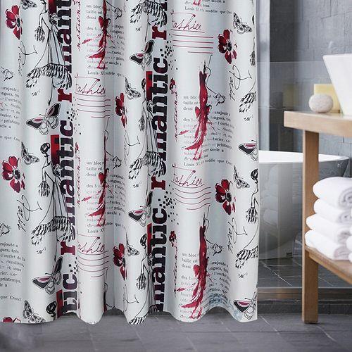 Popular Bath Romantic Notion Shower Curtain