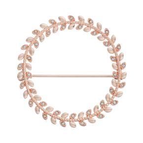 LC Lauren Conrad Round Leaf Pin