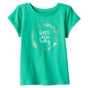 Baby Girl Jumping Beans® St. Patrick's Day Tee!