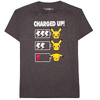 Boys 8-20 Pokemon Charge Tee