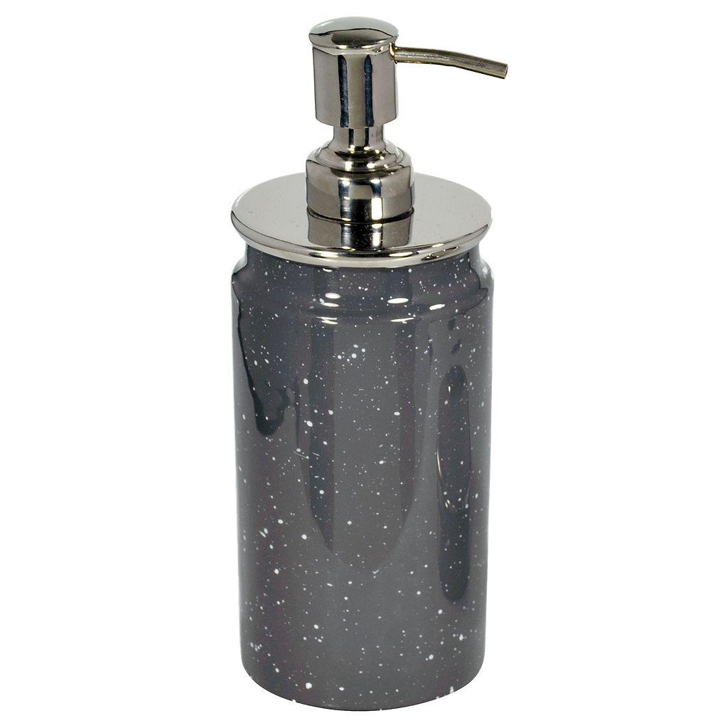 Scribble Spatterware Soap Pump