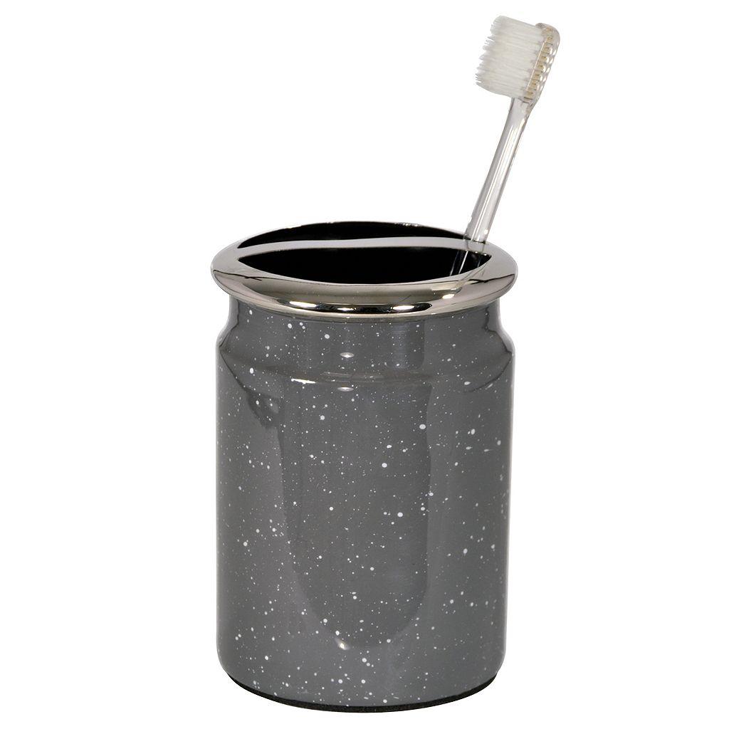 Scribble Spatterware Toothbrush Holder