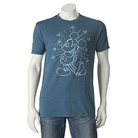 Men's Disney Mickey Mouse Stars Tee