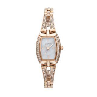 Armitron Women's Crystal Watch - 75/5502MPRG