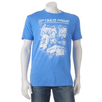 Men's Optimus Prime Transformers Tee