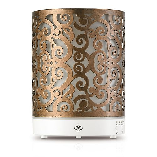 Serene House Scroll Ultrasonic Essential Oils Diffuser