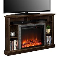 Altra Overland Electric Fireplace Corner TV Stand