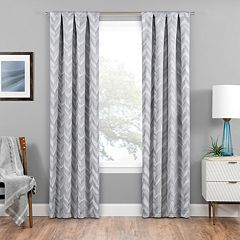eclipse Blackout 1-Panel Haley Window Curtain