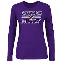 Plus Size Baltimore Ravens Favorite Team Tee