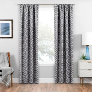 eclipse Blackout 1-Panel Isante Window Curtain