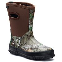 Itasca Bayou Realtree Boys' Waterproof Rain Boots