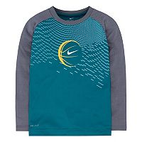 Boys 4-7 Nike Basketball Raglan Tee