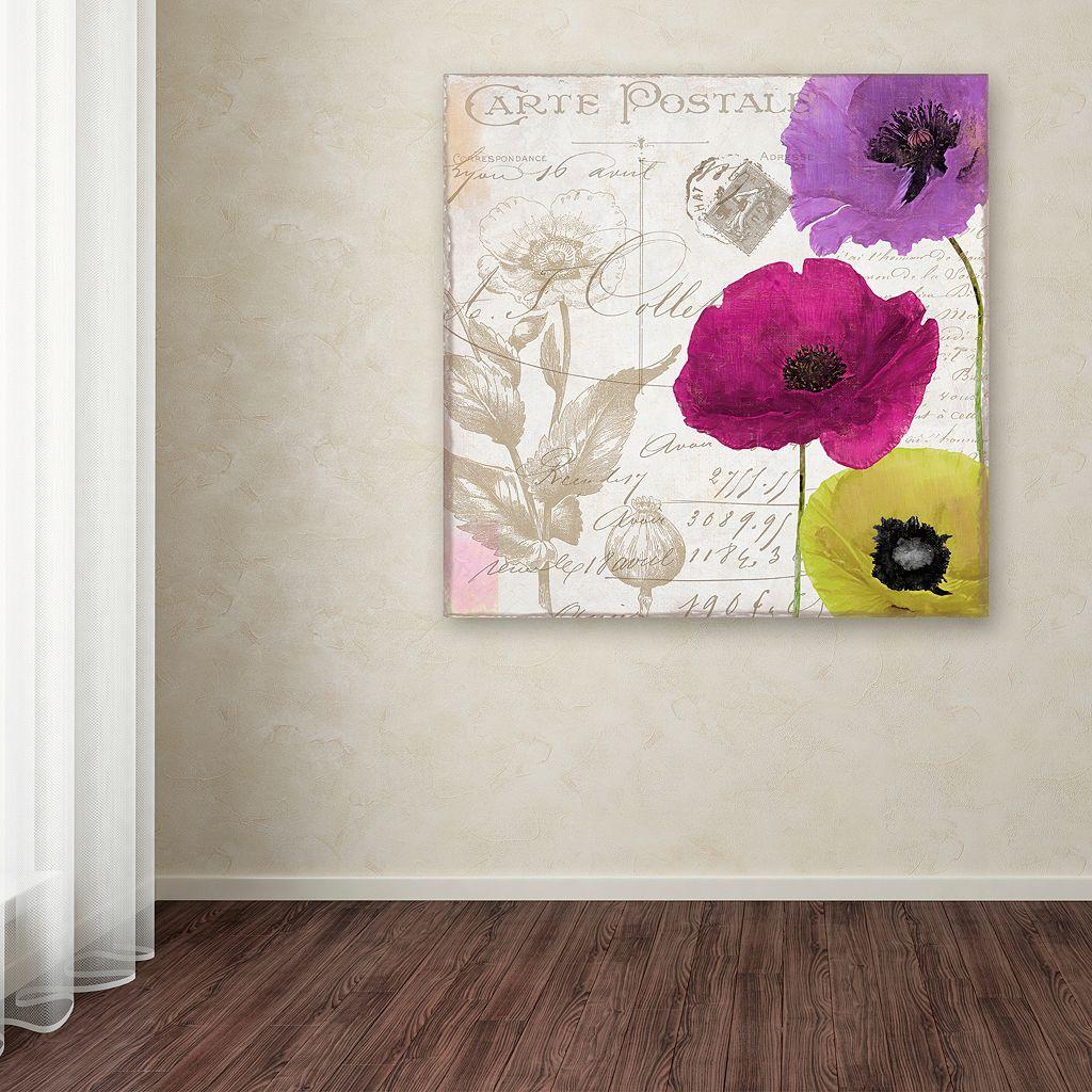 Trademark Fine Art Love Notes I Canvas Wall Art