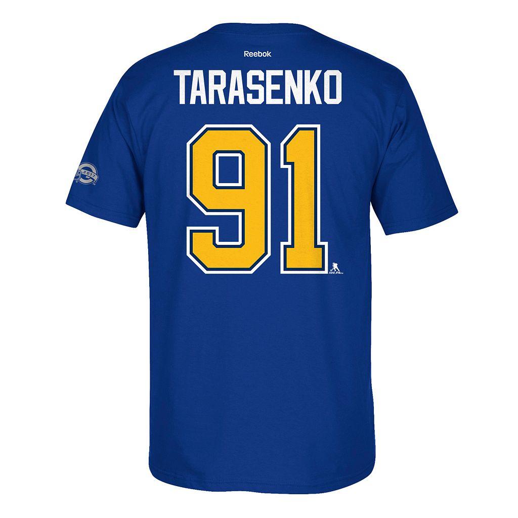Men's Reebok St. Louis Blues Vladimir Tarasenko 2017 Stanley Cup Playoffs Player Tee