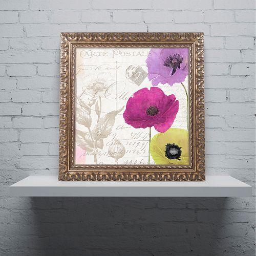 Trademark Fine Art Love Notes I Ornate Framed Wall Art