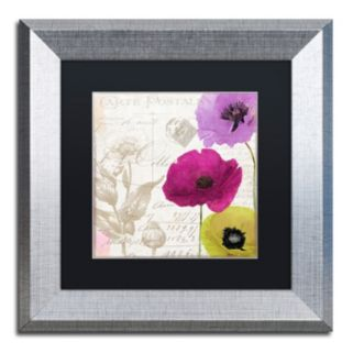 Trademark Fine Art Love Notes I Framed Wall Art