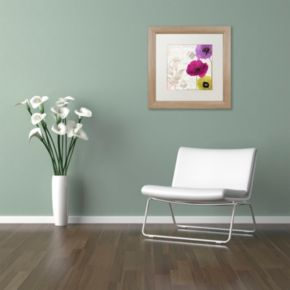 Trademark Fine Art Love Notes I Distressed Framed Wall Art