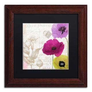 Trademark Fine Art Love Notes I Traditional Framed Wall Art
