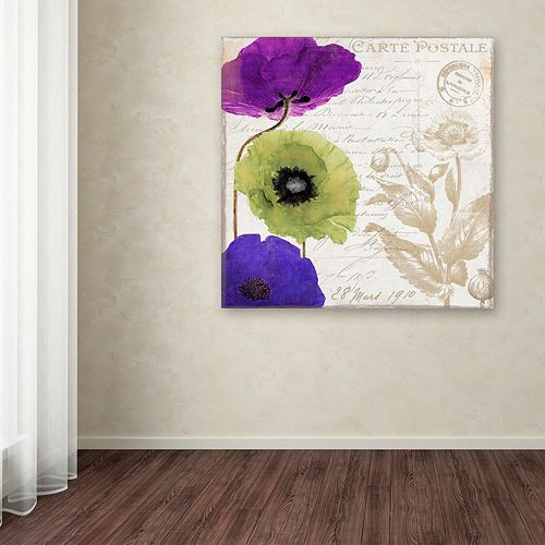 Trademark Fine Art Love Notes II Canvas Wall Art