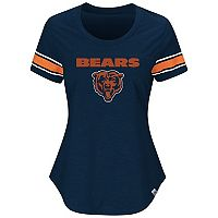 Plus Size Majestic Chicago Bears Jersey Tee