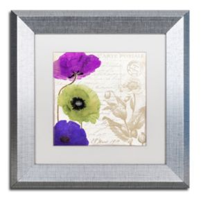 Trademark Fine Art Love Notes II Framed Wall Art