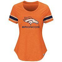 Plus Size Majestic Denver Broncos Jersey Tee