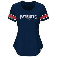 Plus Size Majestic New England Patriots Jersey Tee