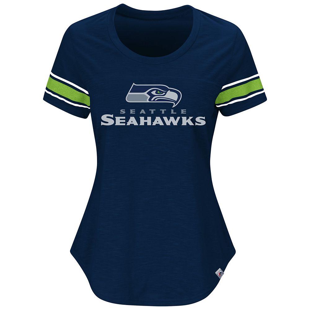 ... Plus Size Majestic Seattle Seahawks Jersey Tee ... e554b082f
