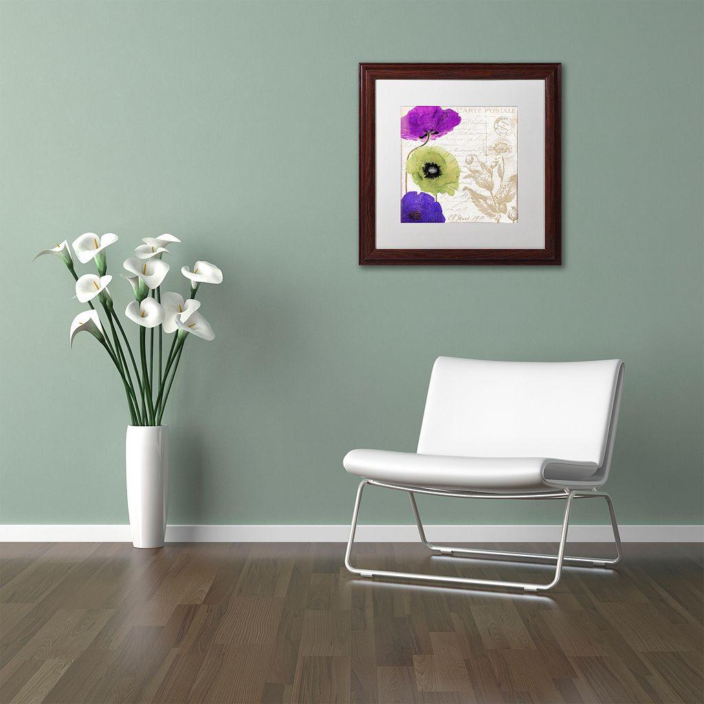 Trademark Fine Art Love Notes II Traditional Framed Wall Art