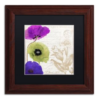 Trademark Fine Art Love Notes II Traditional Framed Wall Art