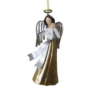 """St. Nicholas Square® """"Love"""" Angel Christmas Ornament"""