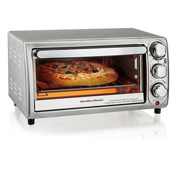 Hamilton Beach 4-Slice Stainless Steel Toaster Oven